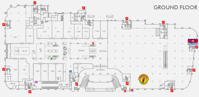 Map-Ground Floor